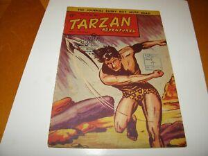 British Comic Tarzan Adventures v8 #45 Westworld 1959 Great art UK Photo CF GD+