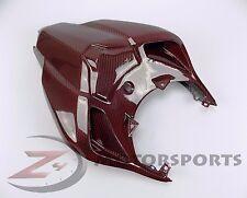 Ducati 848 1098 1198 Rear Upper Tail Driver Seat Cowl Fairing Carbon Fiber Red