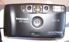 Analoge Kleinbildkamera Traveller Mini AF (mit Autofocus &  Red-eye Reduction)