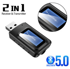 USB Bluetooth 5.0 Audio Receiver Transmitter for TV Speaker Car AUX Wireless