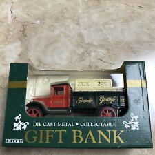 Vintage ERTL Die Cast 1993 Seasons Greeting Bank 1931 Hawkeye Truck New