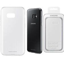 ORIGINALE Samsung chiaro caso Galaxy A5 2017 SM 520F Mobile Cellulare Copertura Posteriore