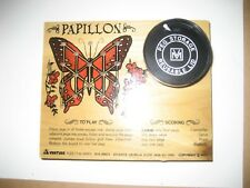 Pappilon Butterfly Puzzle IQ Test Vintage Venture Game litho wood toy  set Mint
