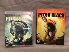 Arrow Pitch Black Special Edition Blu-ray-Vin Diesel-Remastered w/ Extras!
