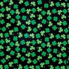 New Unisex Saint Patrick's Day St. Patty's Shamrocks Bandana USA Made