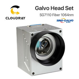 1064nm Fiber Laser Scanning Galvo Head 10mm Galvanometer Scanner with Red Point