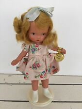 Vintage All Bisque Nancy Ann Storybook Doll Margie Ann in Party Dress Tag