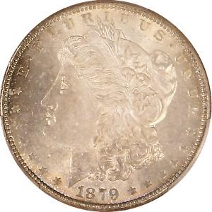 1879-S Morgan Dollar PCGS MS-67, CAC, Certification 41459139