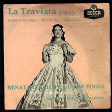 LA TRAVIATA - VERDI = RENATA TEBALDI & GIANNI POGGI, CORO E ORCH. DI S. CECILIA