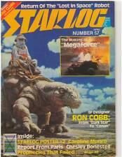 Starlog #57 Apr 1982 Caroline Munro! Empire Strikes Back Poster! New From Disney