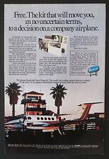 Beechcraft Super King Air Aeroplane Original 1979 Vintage Ad