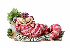 Jim Shore Disney Traditions CHESHIRE CAT ON TREE-THE CATS MEOW Fig 6001274 ALICE