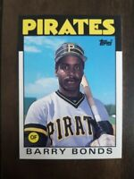 1986 Topps Traded Barry Bonds Rookie Pittsburgh Pirates #11T Baseball Card