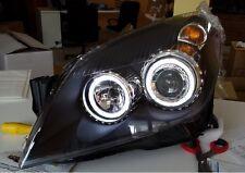 Fanali Fari anteriori Angel Eyes led bianchi Opel Astra H 2004 - 2007