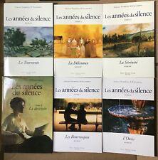 Les années du silence (1995,2002) Louise Tremblay-D'Essiambre 6 volumes set