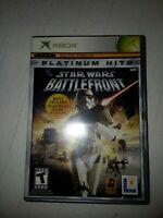 CIB Star Wars: Battlefront (Microsoft Xbox, 2004) COMPLETE IN BOX