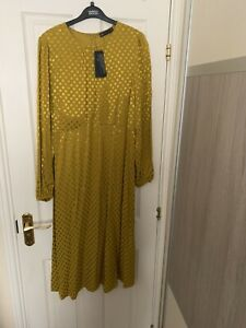 M & S Midi Dress New 16 Holly Willoughby Sold Out