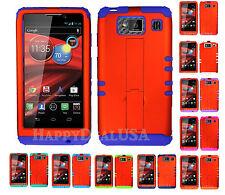KoolKase Hybrid Mix Cover Case for Motorola Droid Razr Maxx HD XT926m - ORANGE