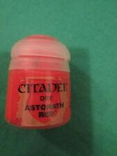 ASTORATH RED - WARHAMMER CITADEL PAINT 12ML POT - DRY - NEW