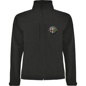 Alfa Romeo Softshell Jacket Parka Veste Mantel Jacke Chaqueta Giacca Blouson Q4