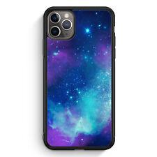 Galaxy Universe Nebula Blau-Lila iPhone 11 Pro Max Silikon Hülle Motiv Design...
