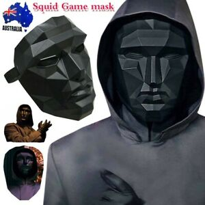 Squid Game The Mask Halloween TV Cosplay Masquerade Horror Costume Party Xmas