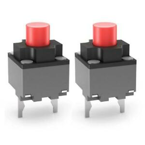 2pcs Micro Switch 6*6*9.5 mm Square Silent Switch Button Mouse DIP Microswitch