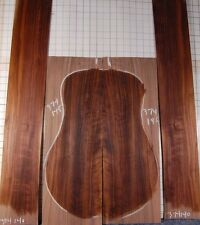 ribbony curl PA black walnut tonewood guitar luthier set back and sides