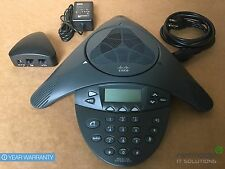 Cisco CP-7936 VoIP Conference Station Phone 7936 w/ Power KIT Triangle