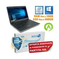 "NOTEBOOK DELL LATITUDE 6430U I5 3437U 14"" HDMI SSD MSATA WINDOWS 10 PER P.IVA-"