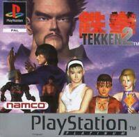Tekken 2 (Sony PS1 Game) *GOOD CONDITION*