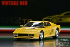 [TOMICA LIMITED VINTAGE NEO 1/64] Ferrari 512TR (Original/Yellow)
