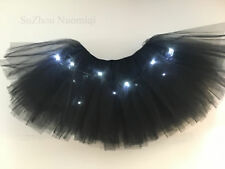 LED Glowing Tutu Slips Nets Girls Dress Hallowmas Skirt Petticoat Lady Hen Party