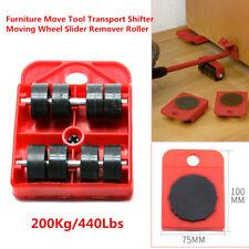 Furniture Move Tool Plate Transport Shifter Moving Wheel Slider Remover Roller