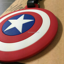 NEW The Captain America Travel Luggage Bag Tag Name ID Card Address Baggage Tags