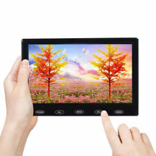 "7"" inch LCD CCTV Monitor HD PC Screen AV/RCA/VGA/HDMI 1080P Video w/ Speaker"