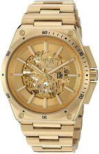 Michael Kors Gold Tone Skeleton Automatic S/steel Bracelet Watch MK9027