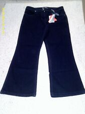 indigo boot cut jeans, size 10 petite, from south, nwt