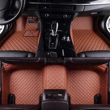 Autoteppiche Matten Fußraumschalen Kunstleder für Tesla Model X 5-Sitze Bj13-18
