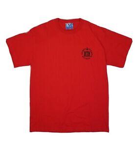 Vtg 2002 XIX Olympic Winter Games Red T Shirt Size L NWT Salt Lake City Utah