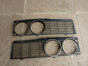 ROVER P6 3500S NADA   Front grille sections.  One pair.  RARE.