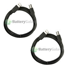 2x For HP CANON DELL BROTHER PRINTER SCANNER CABLE CORD USB 2.0 A-B 6FT NEW HOT!