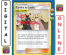 Cynthia & Caitlin 189/236 Cosmic Eclipse Pokemon TCG Online Digital
