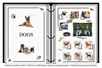 Stamps album to print    DOGS