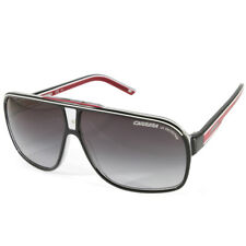 Carrera Grand Prix 2 T4O 9O Polished Black on Clear/Grey Gradient Sunglasses