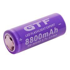 4Pcs 3.7 V 26650 8800 mAh Li-ion Rechargeable Battery For LED Flashlight Torch