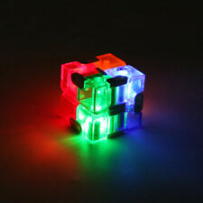 Hot 4x4x4cm Puzzle Magic Rubik Classic Rubix Toy LED Game Kids Infinity Cubes