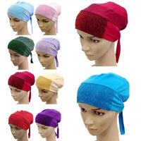 Muslim Women Inner Hijab Caps Islamic Wraps Underscarf Hats Scarf Cap Arab Hat