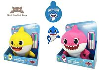 Official Baby Shark Doodle Me Plush Toy 30cm Asst Characters