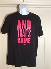 Nike Athletic Department  Black L Short Sleeve T-shirt